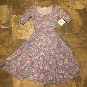 Lularoe Nicole Dress NWT Size XXS